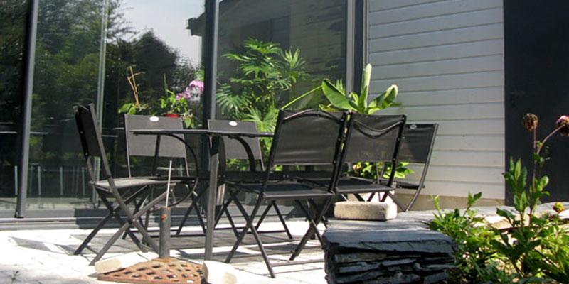 extension coté jardin