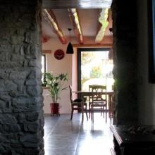 salle à manger vue du hall