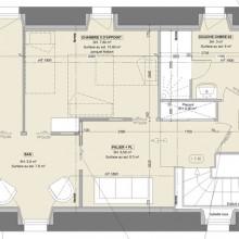 plan d'aménagement chambres d'hôtes