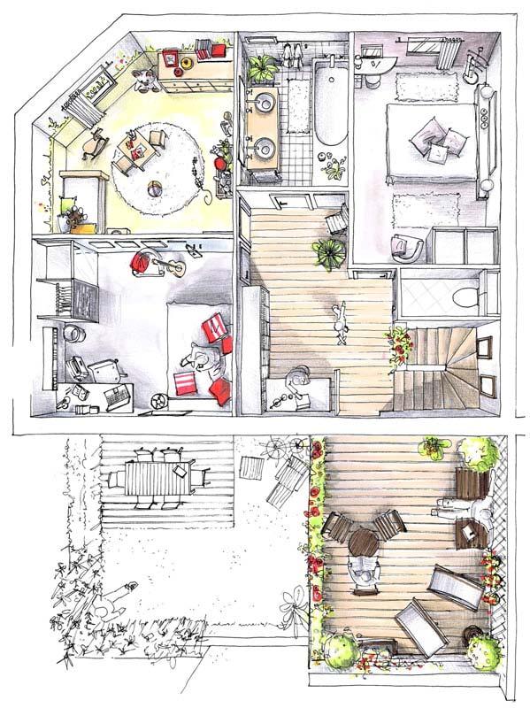 illustration étage