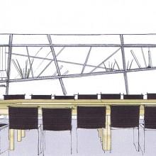 perspective salle de reunion - projet 01